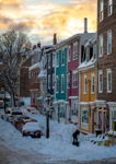 Gower Street Snow