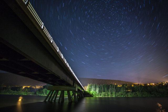 Humber Valley Bridge...