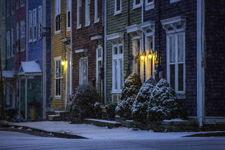 St. John's Snowfall