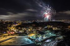St. John's Fireworks, NYE 2018