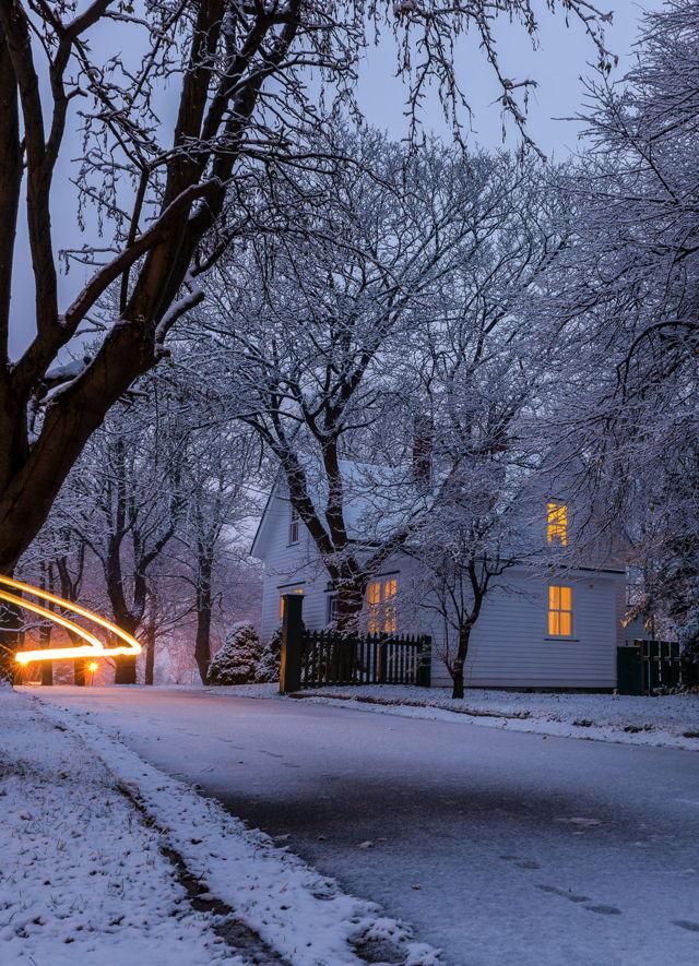 St John's First Snow