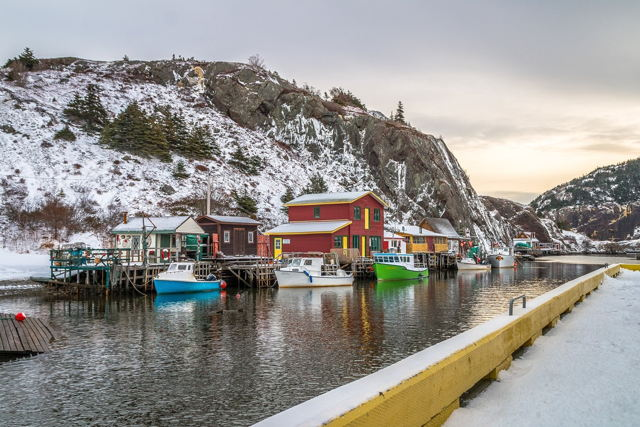 Winter at Quidi Vidi Gut