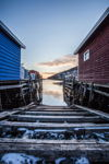 Sunrise in Petty Harbour