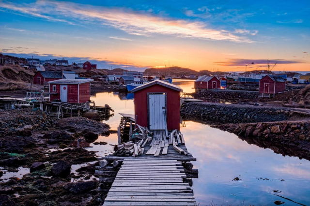 Five Red Stages Twillingate