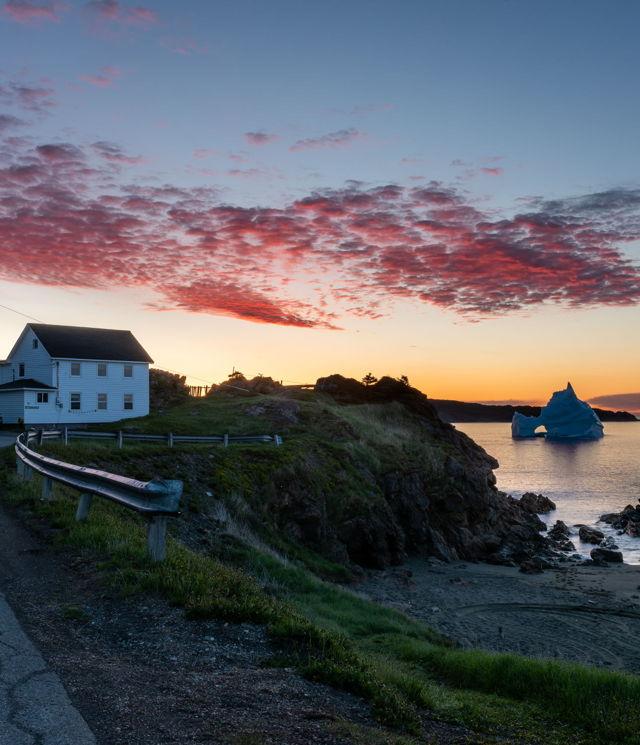 Wild Cove Sunrise v1