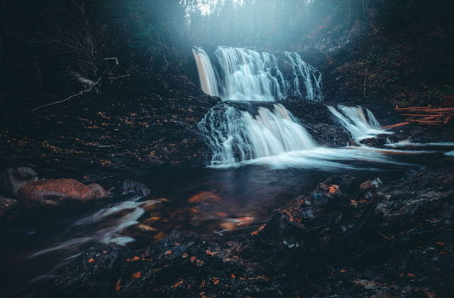 Middle Brook Falls