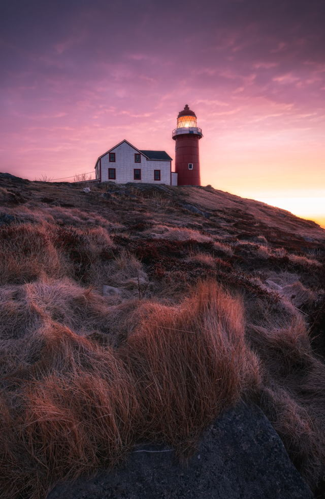 Morning Glow Ferryland Lighthouse