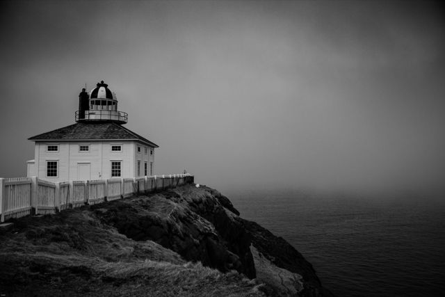 Foggy Day at Cape Spear