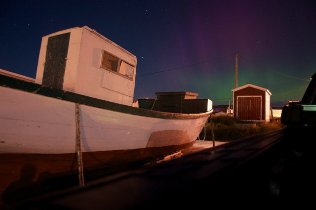 Northern Lights - Fogo Island