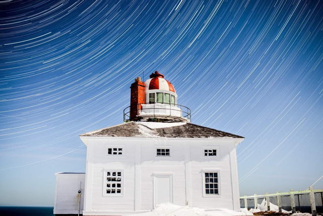 Cape Spear Startrails