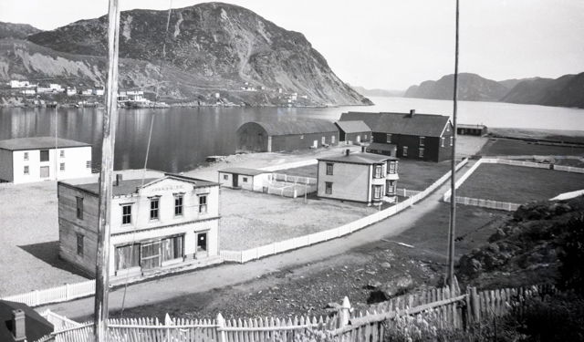 Harbour Breton, NL. early 1950s