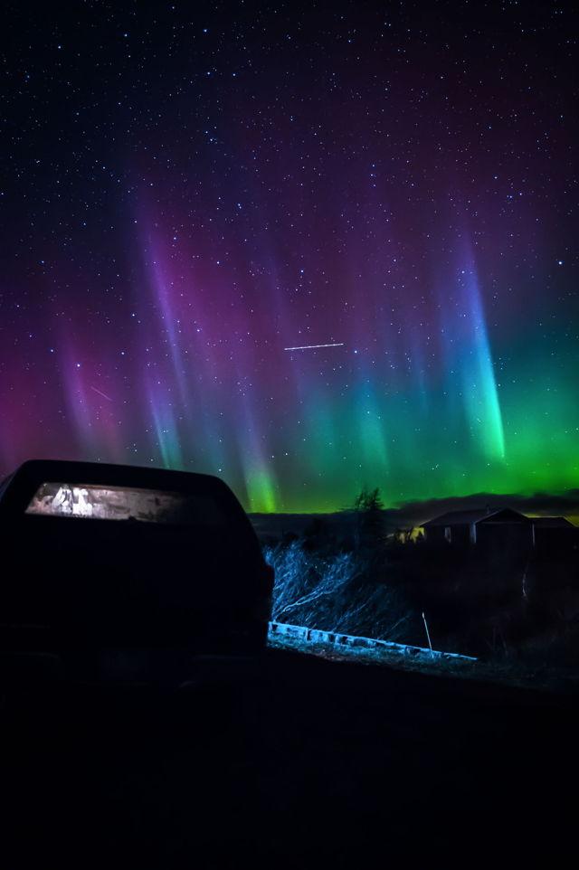 1 Gaff Topsails Northern Lights