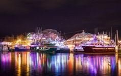 Port de Grave Boat Lighting