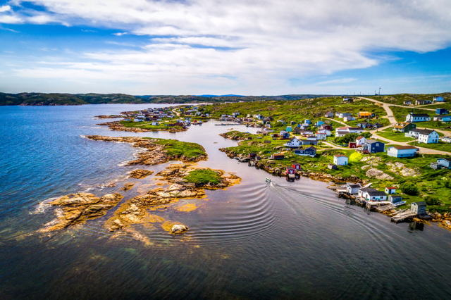 Greenspond From Above