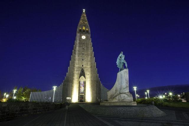 Hallgrimskirkja Church - Iceland