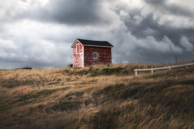 Changing clouds in Elliston
