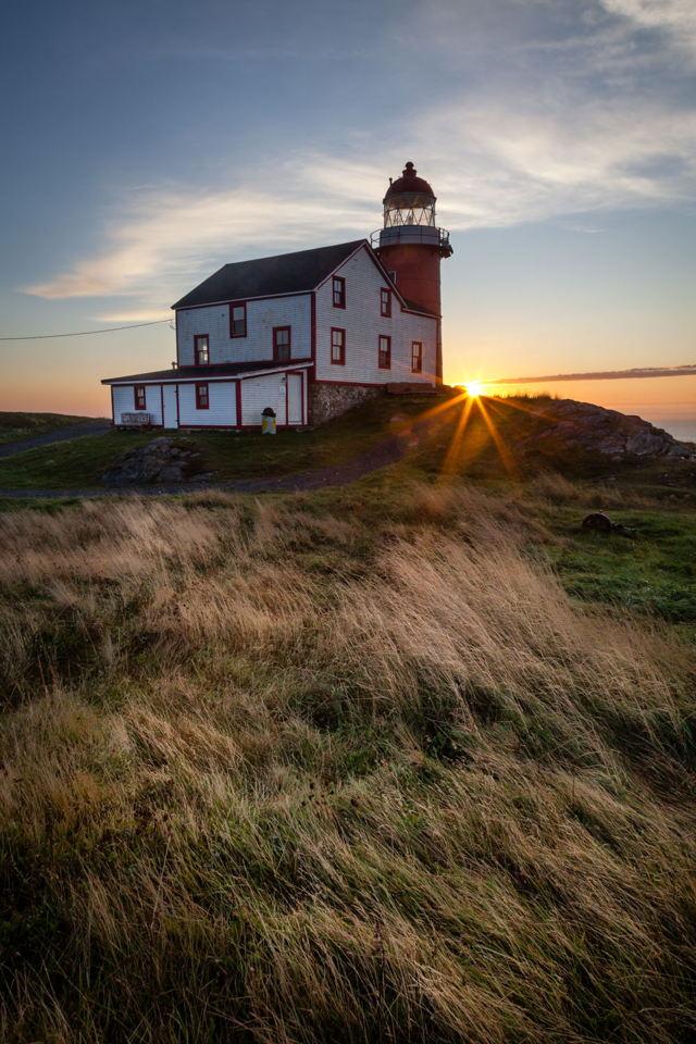 Ferryland Lighthouse at Dawn