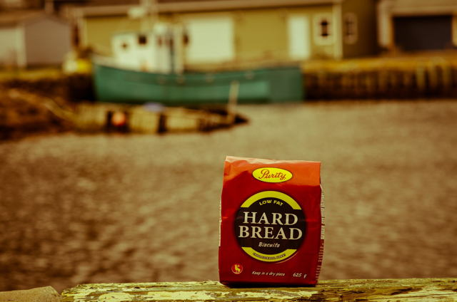 Newfoundland traditions. Hard Bread. Petty Harbour
