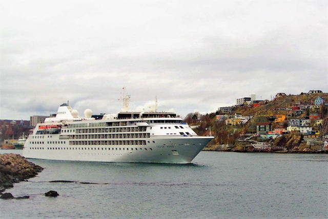 Cruise Ship - Silver Wind - The Battery St. John's