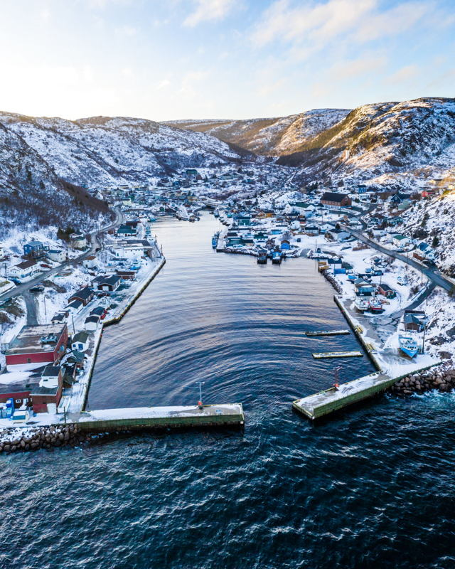 Petty Harbour in the Winter