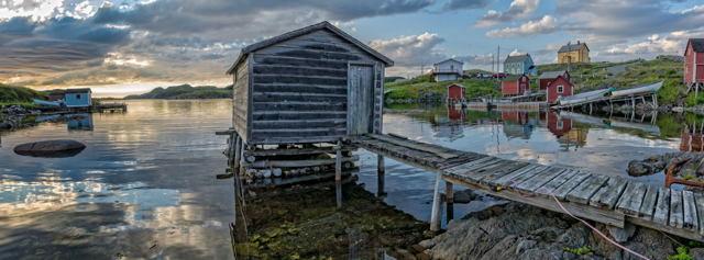 Quiet Evening, Change Islands, Newfoundland