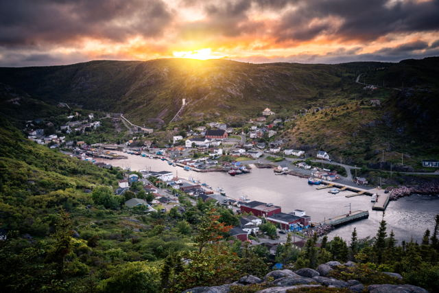 Petty Harbour Glow