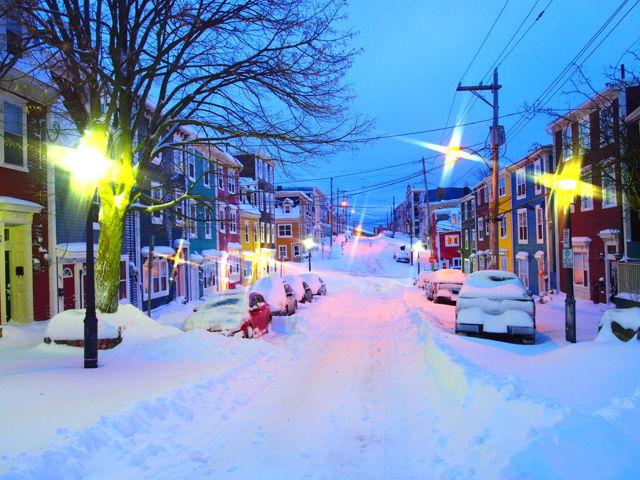Winterwonderland on Gower Street