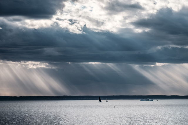 Sunbeams Over Conception Bay