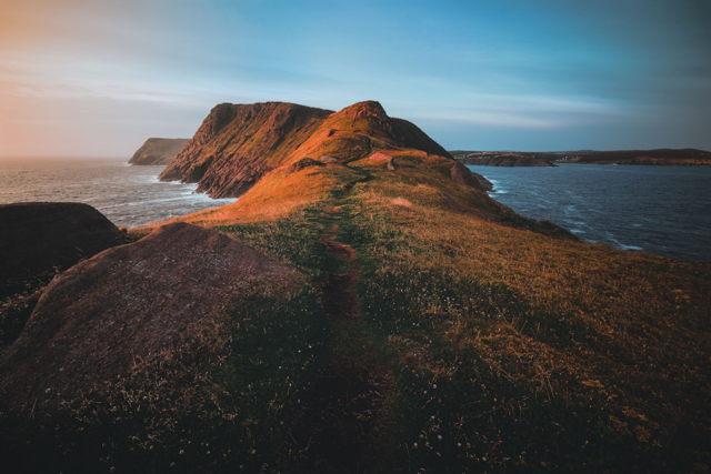 Morning Walk at Torbay Point
