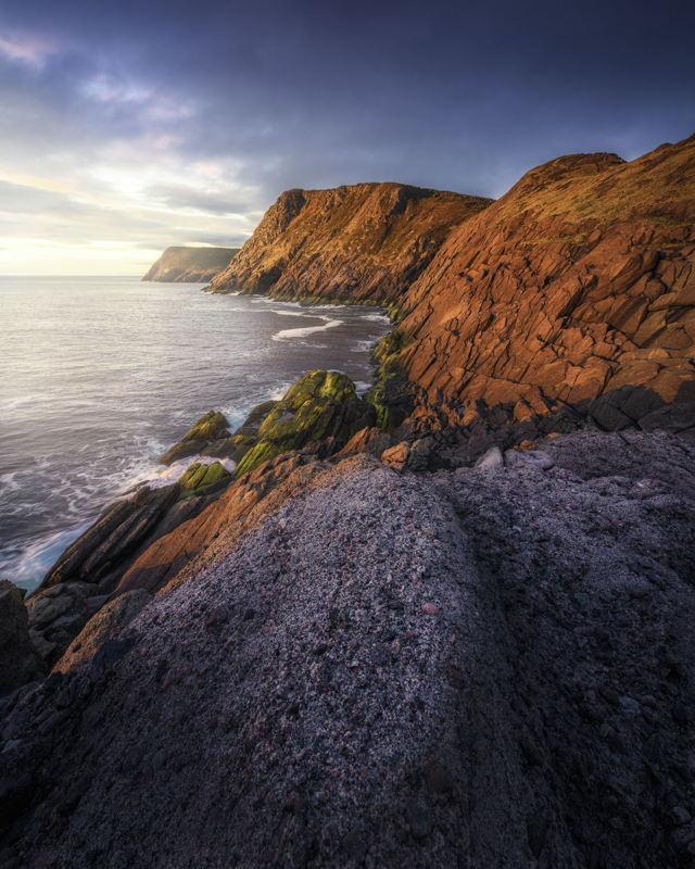 Morning Light on Torbay Point