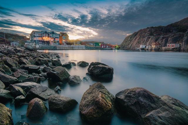 On The Rocks, Quidi Vidi Gut