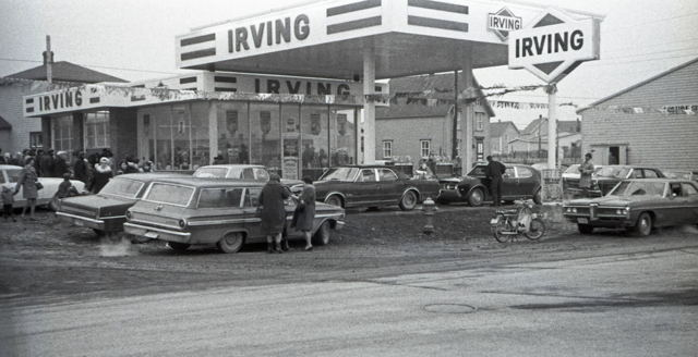 Blagdon's Service Centre- Fortune, NL. - early 1970s