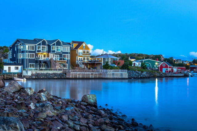 Clear Blue - Quidi Vidi Gut