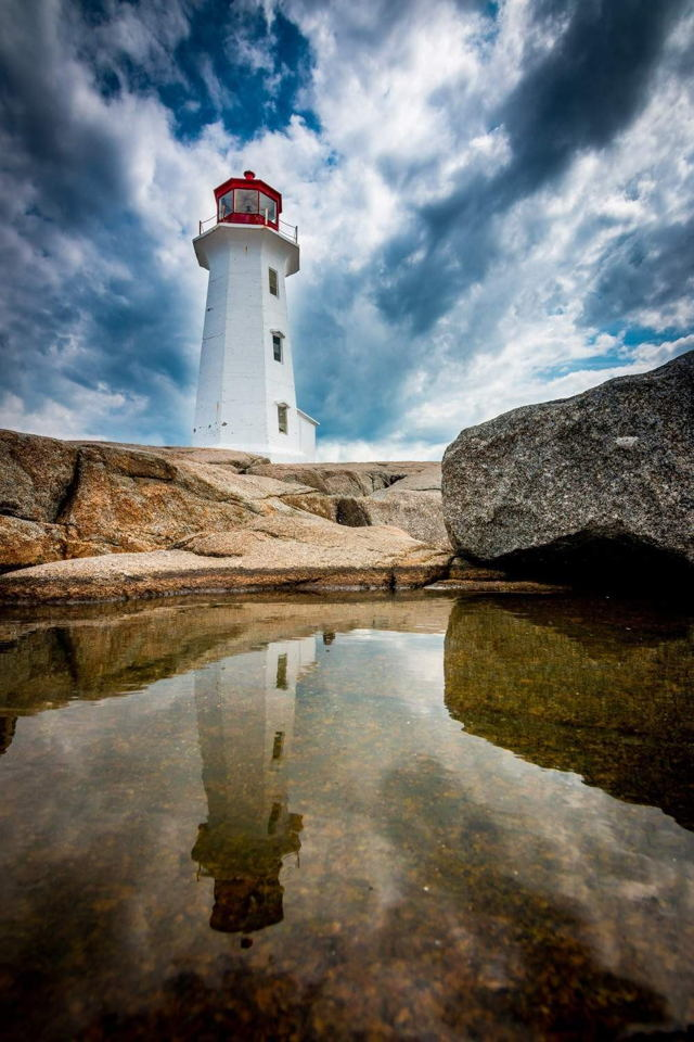 Peggys Cove Reflections