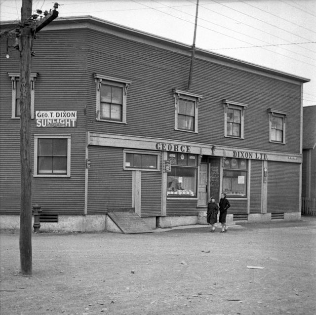 George T. Dixon Ltd's General Store - Fortune, NL., 1940s