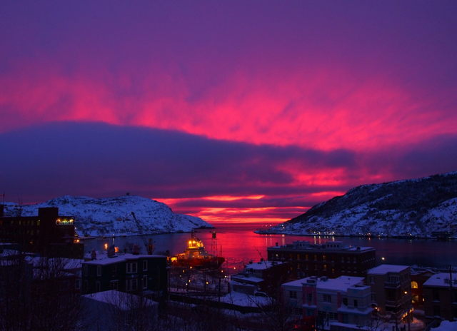 Blushing Sky at Dawn
