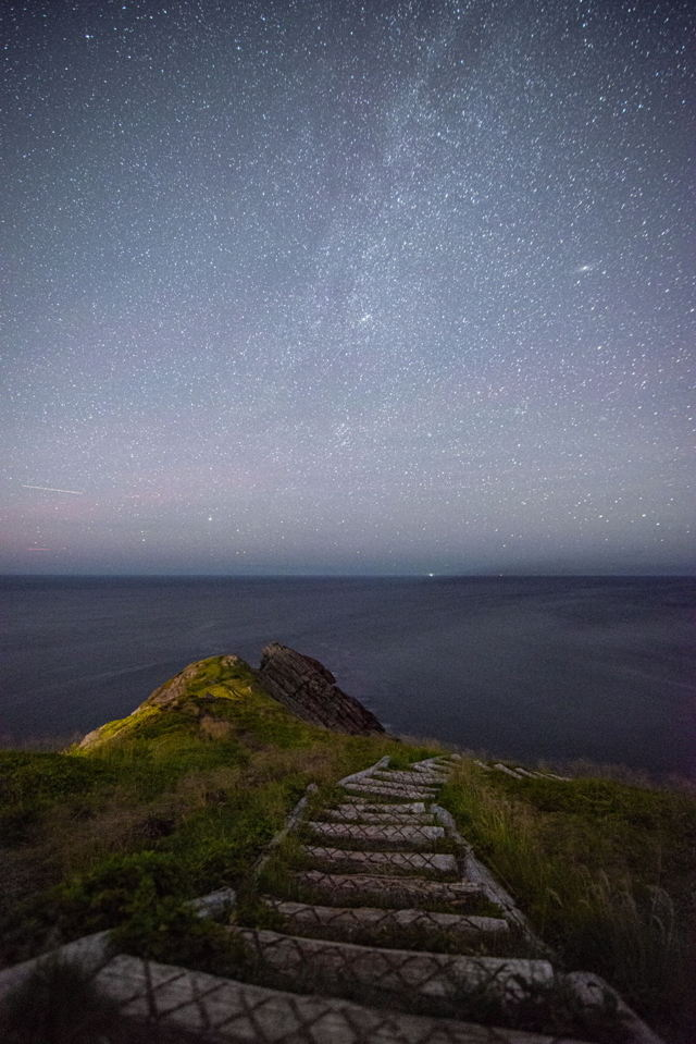 Torbay point under the stars