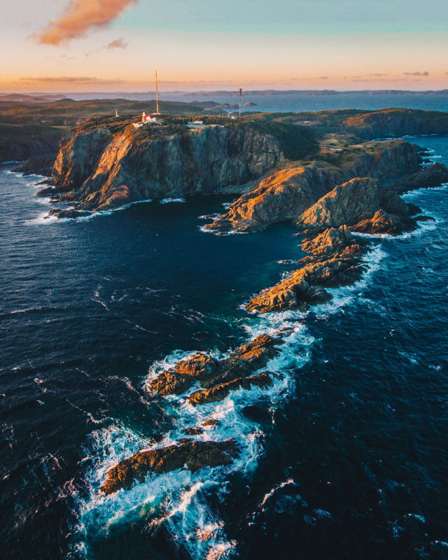 Sunrise at Long Point Lighthouse