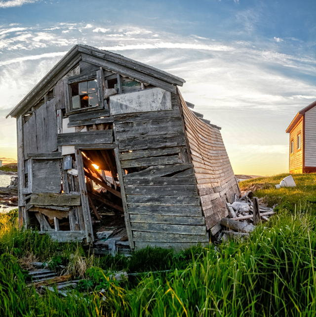 Abandoned, Battle Harbour, Labrador