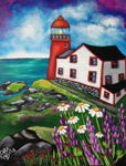 Ferryland Lighthouse in Summer