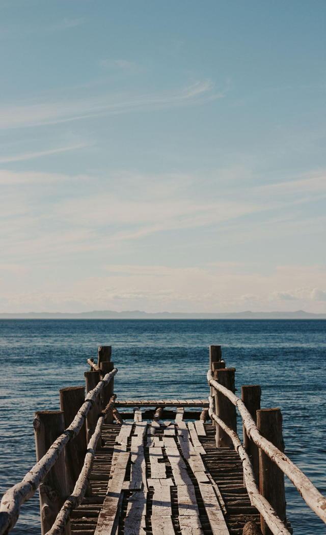 Wooden Wharf - Portrait