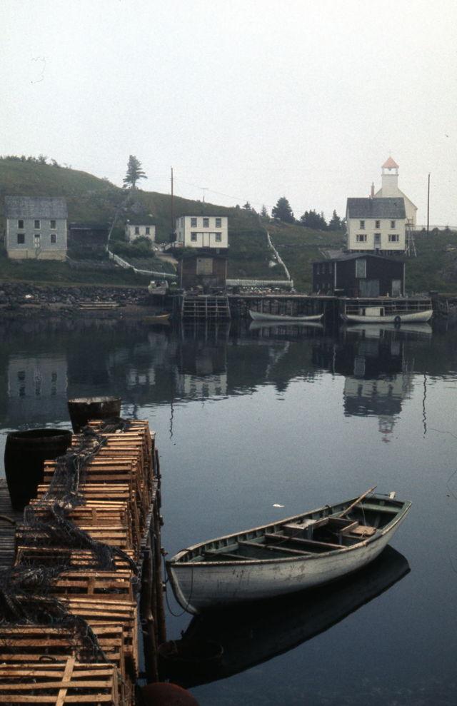 Petite Forte, Placentia Bay, NL - 1970