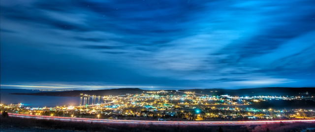 Carbonear at Night