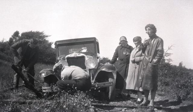 The Pleasures of Motoring - Grand Bank - Fortune Highway...1930s-40s