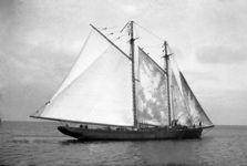 Under Sail - Grand Bank schooner Robert Max - 1940s