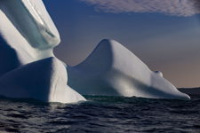 Glistening Iceberg