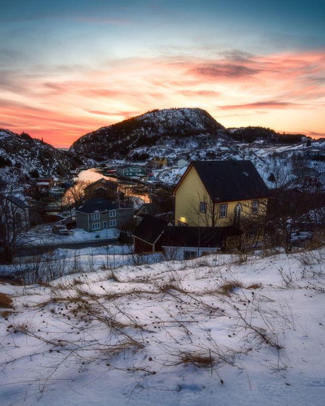 Winter Sunrise at the Gut