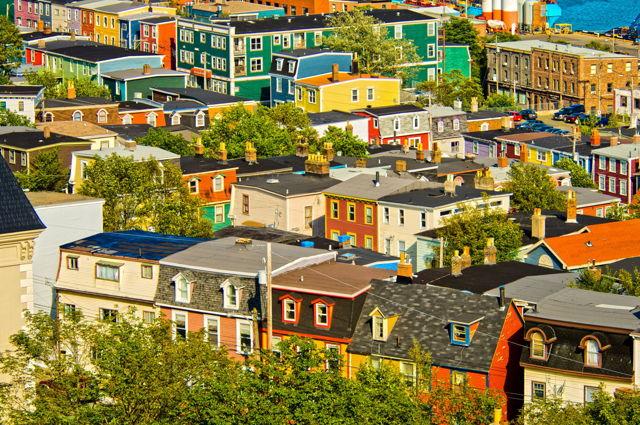 Row Houses, St. John's, Newfoundland