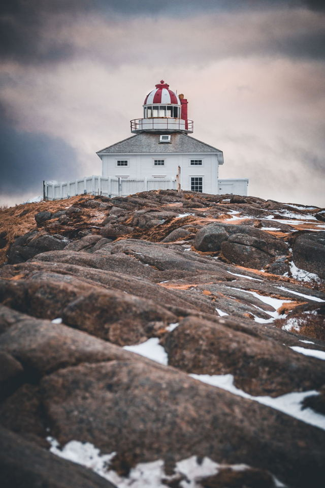 Winter at the Old Lighthouse