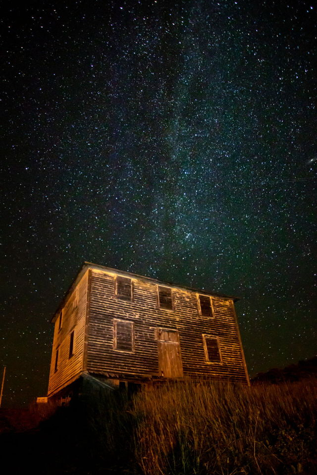 A home under the stars